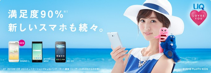 UQ mobileぴったりプラン4