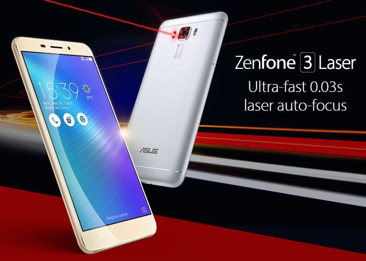 ZenFone 3 Laser、ZenFone 3 MAX日本版11/26発売決定!DSDS不可【ZC551KL、ZC520TL】ASUS