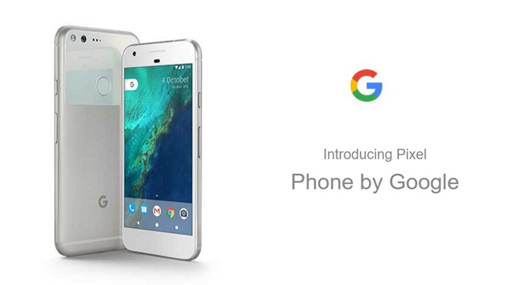 Google Pixel発表!5インチ、5.5インチの二機種【Nexus後継機・HTC製】