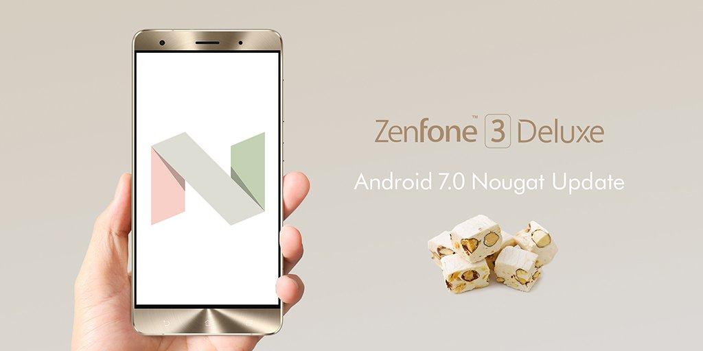 ZenFone 3 Deluxe(ZS570KL/ZS550KL)ZenPad 10(Z300M)のAndroid7.0アップデート開始!【ASUS】