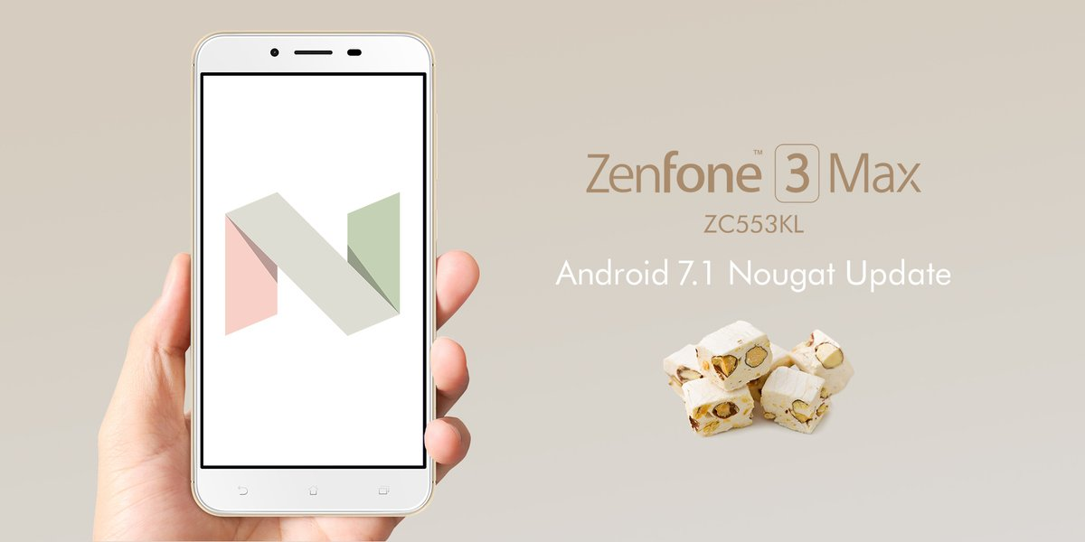ZenFone 3 Max(ZC553KL)がAndroid7.1アップデートでDSDS対応に!ZenFone Zoom S(ZE553KL)はポートレートモードが利用可能【ASUS】
