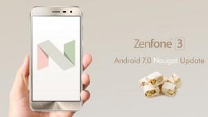 ZenFone 3(ZE520KL/ZE552KL)ZenPad 8.0のAndroid7.0アップデート開始!【ASUS】5/15~