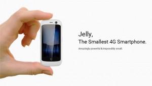 Jelly日本版発売!世界最小2.45インチ60グラムの超小型SIMフリースマホ【Unihertz】