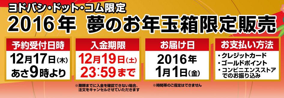 ヨドバシ2016福袋