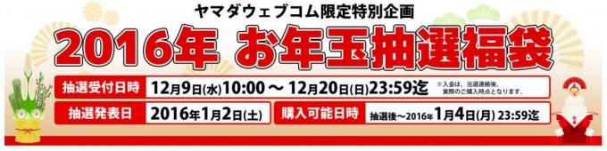 ヤマダ電機福袋2016