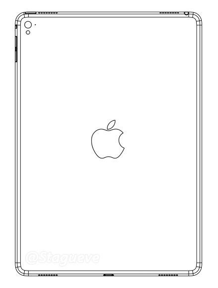 iPad Air3リーク図面