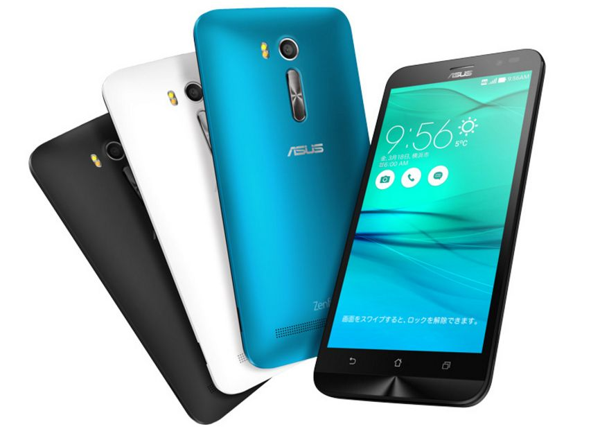 ZenFone Goがau VoLTEに対応!マルチキャリア機種に【ASUS ZB551KL】