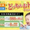 DTI SIM 3GB半年無料!10GB980円引とどっちがお得?