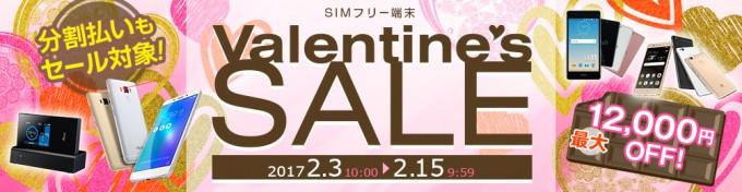 goo sim seller バレンタイン