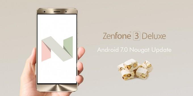 zenfone 3 deluxe android7
