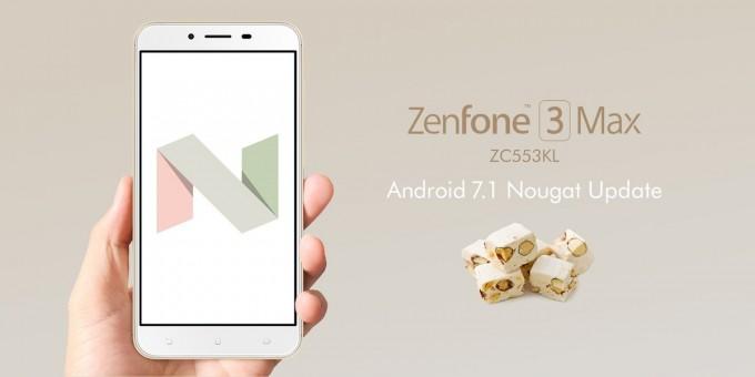 zenfone 3 max update