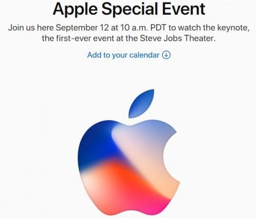 apple2017新製品発表会