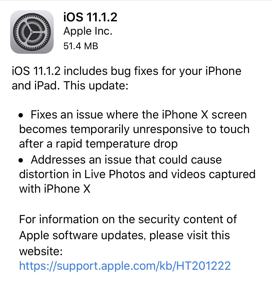 iOS11.1.2の不具合・評判は?iPhone Xのディスプレイが反応しなくなる問題等を修正【Apple】格安SIMの対応状況もアリ