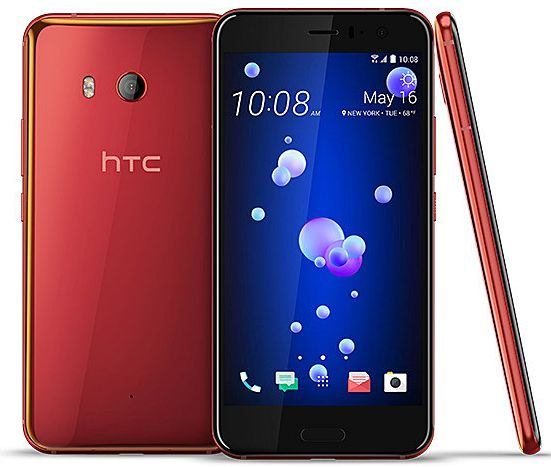 HTC U11 ソーラーレッドSIMフリー版の発売日、価格、評判は?おサイフケータイ、防水にも対応した高性能機