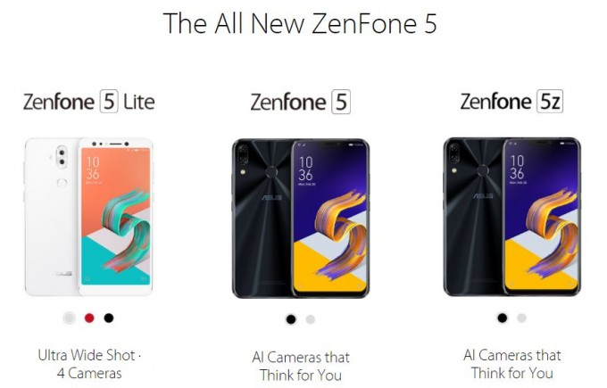 zenfone 5シリーズ