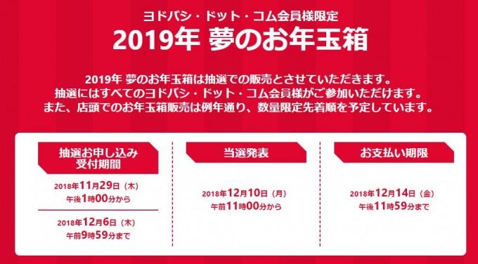 ヨドバシ福袋2019