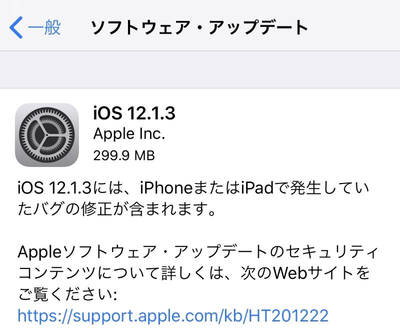 iOS12.1.3の不具合・評価は?メッセージ表示バグ、CarPlayの接続解除問題等を修正【Apple】格安SIMの対応状況もアリ