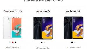 ZenFone 5、ZenFone Lite、ZenFone 5Z正式発表!日本版の発売は?【ASUS】ZE620KL ZS620KL ZC600KL