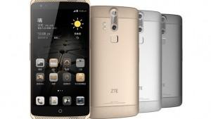 ZTE AXON mini 12/25発売!5.2インチSIMフリー・生体認証・薄ベゼル【ハイスペックモデル】