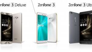 ZenFone 3は大人気の予感!無印、Deluxe、Ultraの3機種展開、新デザインで登場【ASUS】